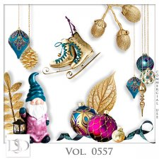 Vol. 0555 to 0559 Christmas Mix by D's Design