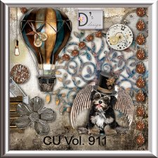 Vol. 911 Steampunk Mix by Doudou Design