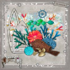 VOL 65 Seashell Elements EXCLUSIVE byMurielle