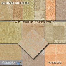 EXCLUSIVE Lacey Earth Papers by Silver Splashes