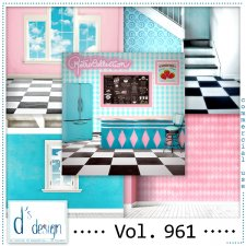 Vol. 961 Fifties Papers by Doudou Design