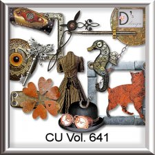 Vol. 641 Steampunk Mix by Doudou Design