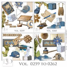 Vol. 0259 to 0262 School Mix by D's Design