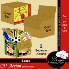 Boxed ACTION by Boop Designs
