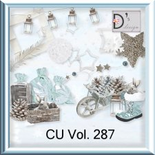Vol 287 Winter Christmas by Doudou Design