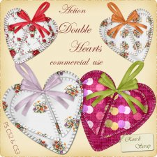 Action - Double Hearts by Rose.li