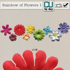 Rainbow of Flowers 1 - CUbyDay EXCLUSIVE