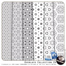 Overlays Collection 24 by MoonDesigns