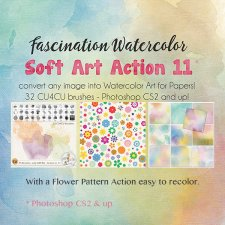 Action Soft Art 11 - Fascination Watercolor by Papierstudio Silke