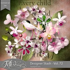 Designer Stash Vol 72 - CU by Feli Designs