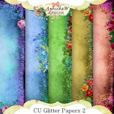 Glitter Papers 2 by Aneczkaw