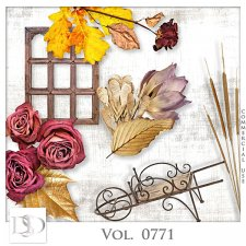 Vol. 0771 Autumn Nature Mix by D's Design