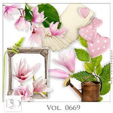 Vol. 0669 Nature Floral Mix by D's Design