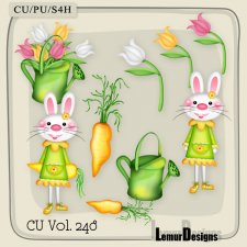 CU Vol 248 Easter Elements Pack 4 by Lemur Designs