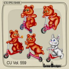 CU Vol 559 Animals by Lemur Designs
