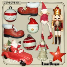 CU Vol 700 Christmas by Lemur Designs