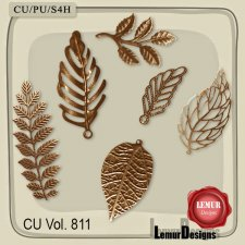 CU Vol 811 Metal Leaves by Lemur Designs