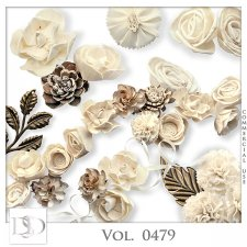 Vol. 0479 Floral Mix by D's Design