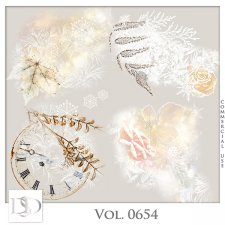 Vol. 0654 Winter Accents by D's Design