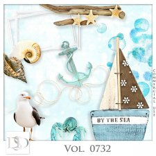Vol. 0732 Summer Sea Mix by D's Design
