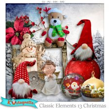 Classic elements 13 Christmas by kastagnette
