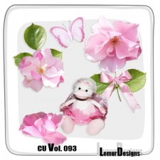 CU Vol 093 Girls Stuff Flowers by Lemur Designs