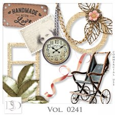 Vol. 0241 Vintage Mix by Doudou Design