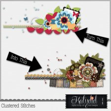 Cluster Stitches Layered Templates Pack No 2