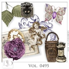 Vol. 0495 Vintage Mix by D's Design