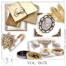 Vol. 0678 Vintage Mix by D's Design