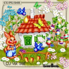 CU Vol 598 Easter Spring by Lemur Designs