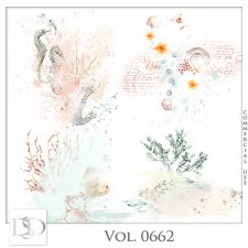 Vol. 0662 Sea/Summer Accents by D's Design