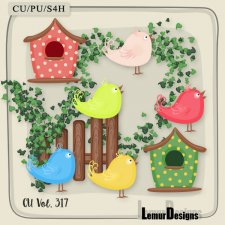 CU Vol 317 Garden Pack 1 by Lemur Designs