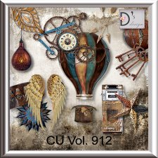 Vol. 912 Steampunk Mix by Doudou Design