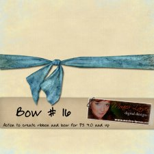 Bow 16 by Monica Larsen