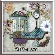 Vol. 870 vintage elements by Doudou Design