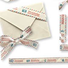 Vol. 0169 Post Mail Ribbons Mix by Doudou Design