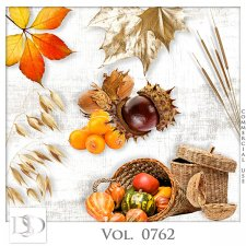 Vol. 0761 to 0765 Autumn Nature Mix by D's Design