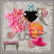 Vol 92 Girl Love elements EXCLUSIVE byMurielle