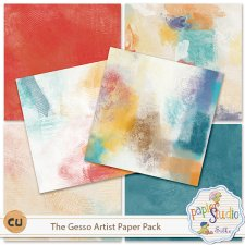 The Gesso Artist Paper Pack EXCLUSIVE by PapierStudio Silke