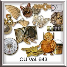 Vol. 643 Steampunk Mix by Doudou Design