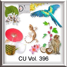 Vol. 396 Exotic Tropical Mix by Doudou Design