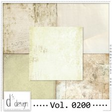 Vol. 0200 Vintage Papers by Doudou Design