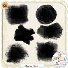 Chalky Masks EXCLUSIVE by Papierstudio Silke