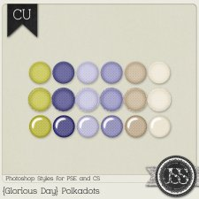 Glorious Day Polkadots PS Styles by Just So Scrappy