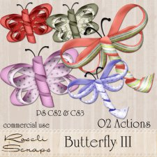 Action - Butterfly III by Rose.li