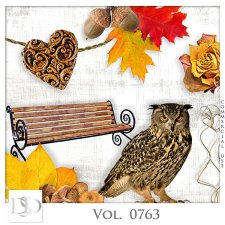 Vol. 0763 Autumn Nature Mix by D's Design
