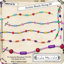 Beads String 05 Action by Cida Merola