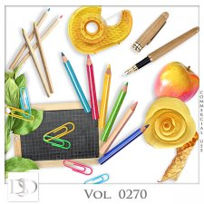 Vol. 0270 School Mix by D's Design