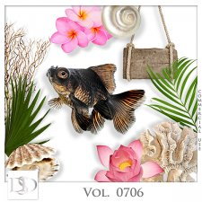 Vol. 0706 Tropical Sea Mix by D's Design
